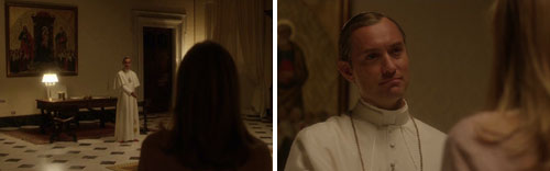 "Jude Law en ""The young pope"" de Sorrentino"