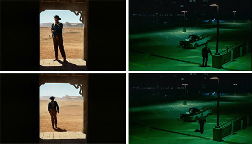 """Centauros del desierto"" (""The searchers"", Ford) y ""Paris, Texas"" (Wenders)"
