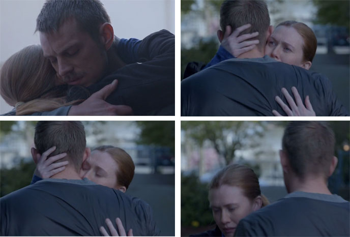 """The Killing"" - El reencuentro de Linden y Holder"