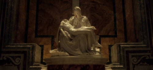 """La piedad"" de Miguel Ángel en ""The young pope"" (Sorrentino)"