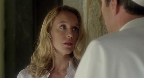 "Ludivine Sagnier en ""The young pope"" de Paolo Sorrentino"
