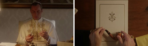 "La madre de Lenny en ""The young pope"" de Paolo Sorrentino"