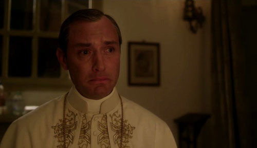 "Jude Law en ""The young pope"" de Paolo Sorrentino"