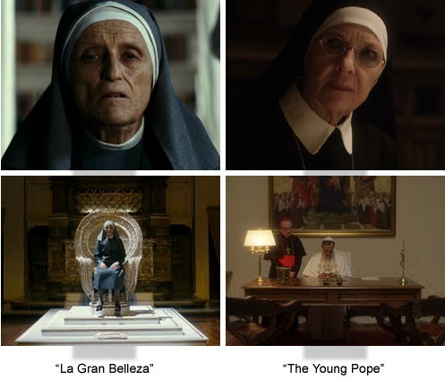 """La Gran Belleza"" versus ""The Young Pope"" Sorrentino"