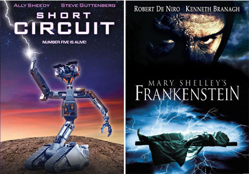 """Short Circuit"" y ""Frankenstein"""