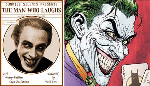 """The man who laughs"" de Paul Leni versus Joker"