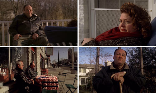 """Los Soprano"" (""The Sopranos"", David Chase). Episodio final, 6x21."